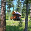 Tiny Cabin near Missoula on 100 ac.