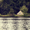 Pond Side Bell Tent