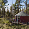 Long John Hike-in Camping Yurt