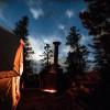 Miners Candle Yurt- Hummingbird Mtn