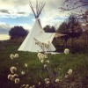 Three Sisters Tipi @ Old Gem Farm