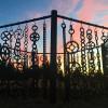 Rad Sculpture Garden Camping