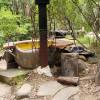 Bohemian Camping Waterfall, Hot Tub