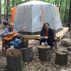 Woodstock ByrdCliffe Glamp Tent