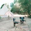Glamping on ranch + pool (sleeps 4)
