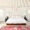 Skyfarm Yurt - A Glamping Oasis