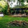 The black walnut circular shelter