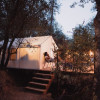 Riverside Canvas Tent Camping