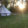 Glamping Yurt Under Spanish Oaks