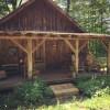 Cabin on Horse Farm