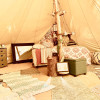 Bell Tent Heaven on 200 Acres