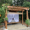 Luxury Pergola Bed Swing