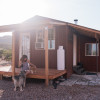 Tin Roofed Cabin White Sands Ntl Mt