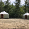 Two 20 foot yurts near Raleigh