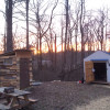 Tent Camp at Pucker Up Berry Farm