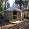 Secluded Off-Grid Yurt with Hot Tub