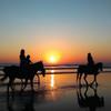 Beachin' ranch camping w/ horses