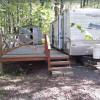 Camper Van in nature