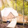 Big Luxury Tent w/ Cozy Wood Stove