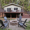 WOODHAVEN -  Casually Chic Well-Appointed Lake Cabin in The Stanislaus Forest
