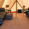 """The Crosby"" Glamping Canvas Tent"