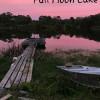 Full moon lake,