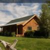 Cabin on farmland