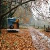 Creekside rustic farm camp
