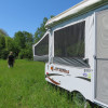 Pop-up camping at New Promise Farm