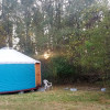 Yurt in a secluded pasture