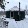Cozy Mountain Yurt on Organic Farm