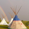 Authenic Lakota Tipi Stays