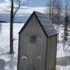 Lake Michigan Ice Shanty sleep/fish