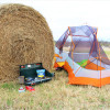 Rural Tent Camping