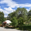 RiverWalk Yurt, tricked out Luxury