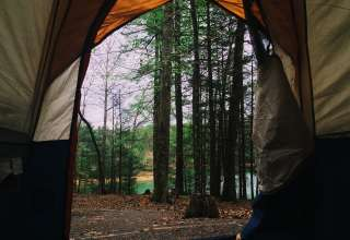 Tent with a view!