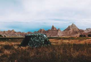 tent lodging canyon