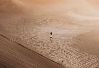 hiking desert activity
