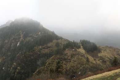 View from Saddle Mountain.
