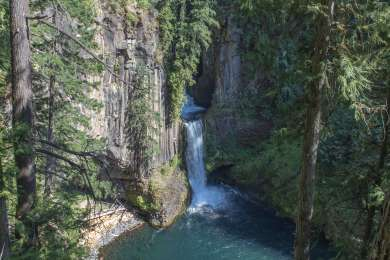 Nearby Toketee Falls is just a small drive and a short hike away.