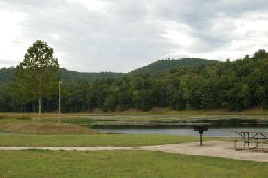 Kettle Creek State Park Upper Campground