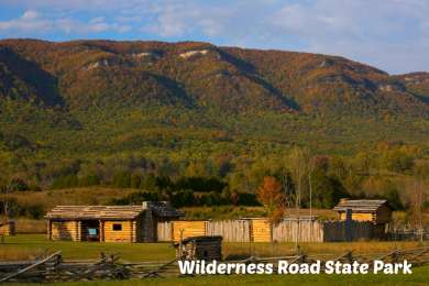 Wilderness Road State Park Campground