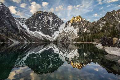 The trailhead for Colchuk lake is close by. If you're feeling adventurous, go experience the wonder of one of the prettiest alpine lakes in Washington! Overnight camping is permit regulated June 15 - October 15 but it's worth the trek for a glorious swim!