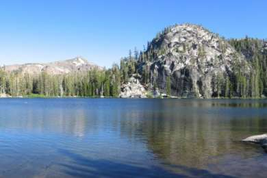 Dardanelles Lake is a beauty just a few miles from the Big Meadow trailhead. Dispersed camping, so no fire pits or picnic tables, but an alpine lake all to yourself is worth that.