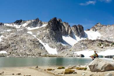 The Stuart Lake trailhead, one access point to the Enchantments, is close by! If you're feeling strong, head up Asgard Pass and visit one of the most stunning places in Washington!