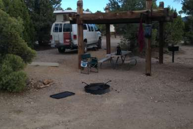 Typical campsite