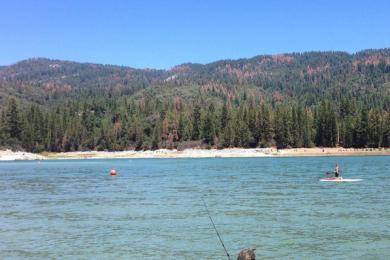 Fishing at Bass Lake
