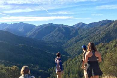 An awesome view from the Helipad at Bottcher's Gap!