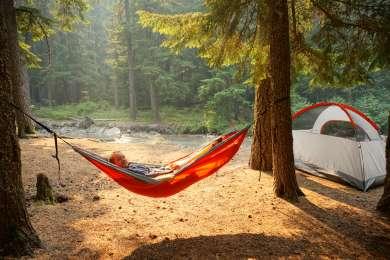 tent hammock lodging