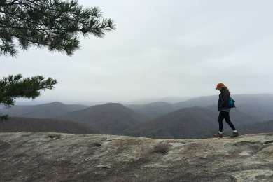 December 2014 at Stone Mountain summit
